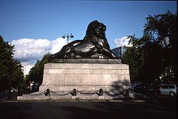 Lion of Belfort-Place Denfert_Rochereau