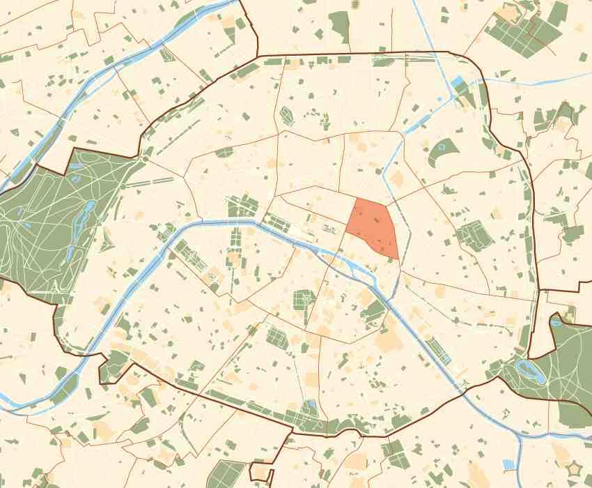 Budget hotels paris 03 3rd arrondissement 3rd district for Hotel 11 arrondissement paris