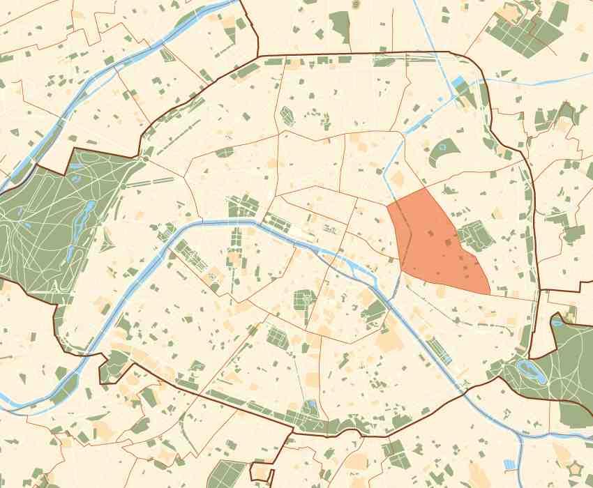 Budget hotels paris 11 11th arrondissement 11th district for Hotel 11 arrondissement paris