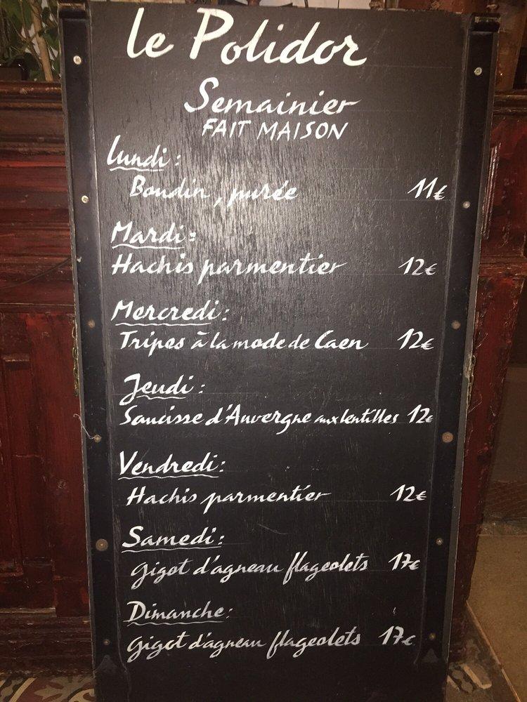 Historic Polidor Restaurant Abc Paris Cheap Flights Budget Hotels